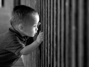 Bimbo in carcere