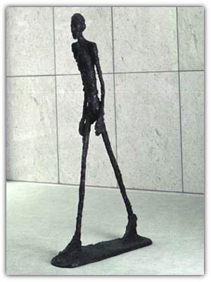 L'uomo che cammina di Giacometti