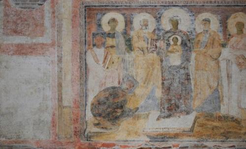 Madonna bizantina a Santa Sabina