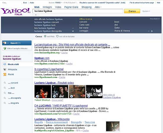 Yahoo personals enterprise al