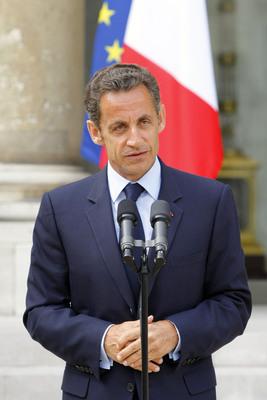 Parigi apparizione Sarkozy 5