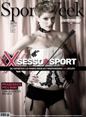 Francesca Piccinini Calendario.Il Ritorno Di Francesca Piccinini Come Icona Sexy