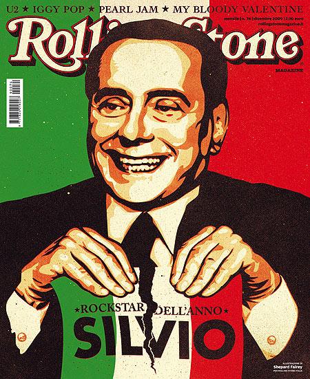 Berlusconi rockstar