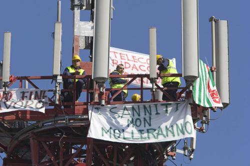 sciopero telecom 1