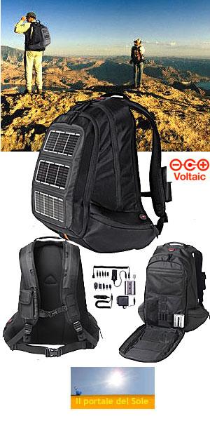 1b2700b01c Fotovoltaico/ Tutti pronti per la 'svolta bio'? Allora zaino in spalla. Ma a  pannelli solari