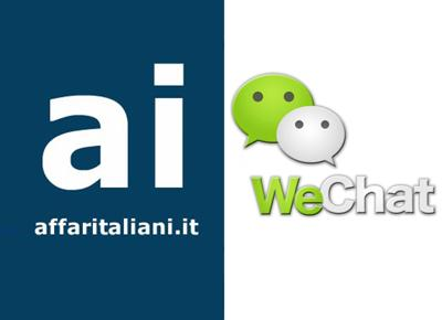 "Affaritaliani.it è anche su WeChat. ""Mobile e social driver del futuro"""