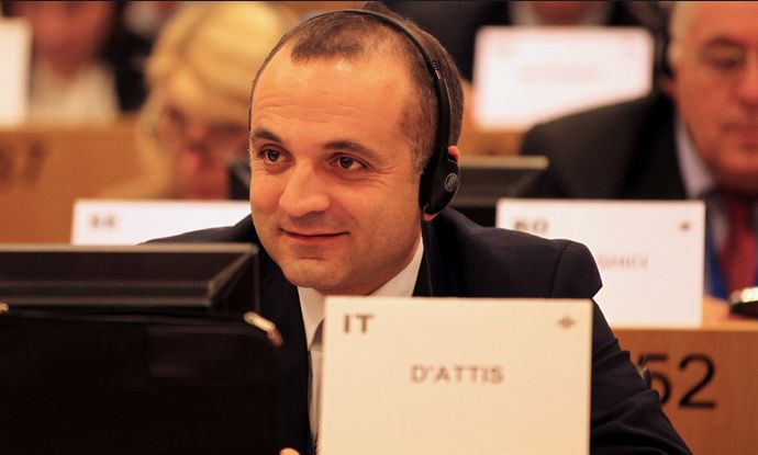 Ritardi pagamenti, D'Attis (FI) scrive a Patuanelli