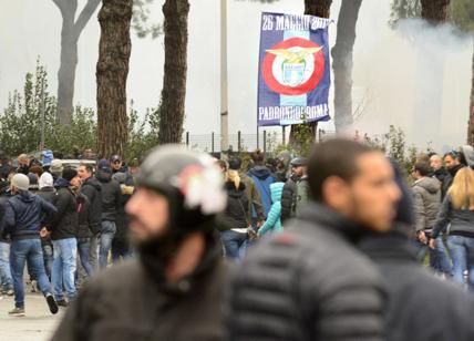 Ultras squalificato cinque anni: ha aggredito un tifoso per una bandiera