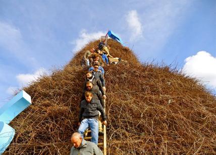 La Fòcara di Novoli (Le) fervono i preparativi e l'attesa