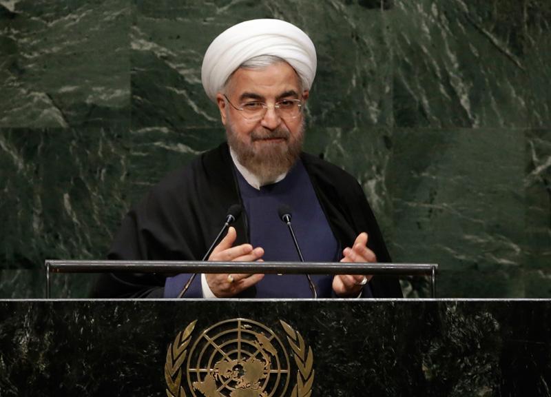 Mentre il premier Renzi incontrava all'Onu il leader iraniano Rouhani, l'Iran presentava un nuovo missile per distruggere Israele, ma il premier...