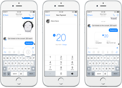 Facebook Payments: paga gli amici via Messenger