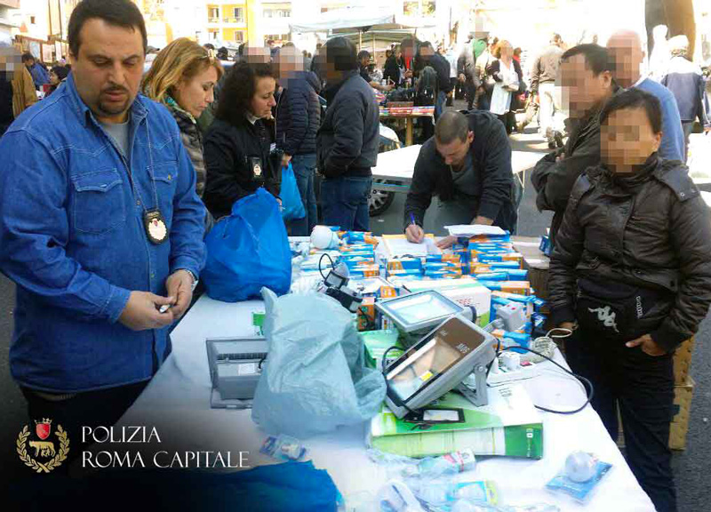 Vigili a porta portese blitz al mercato del falso - Porta portese offerte lavoro roma ...