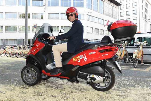 Milano: arriva anche lo scooter sharing targato Enjoy