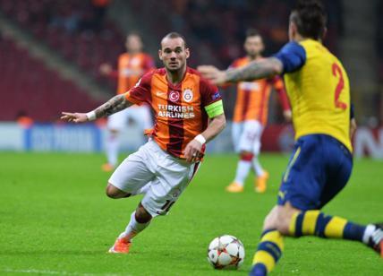 Calciomercato: la Sampdoria vuole regalarsi Sneijder, oggi incontro a Roma