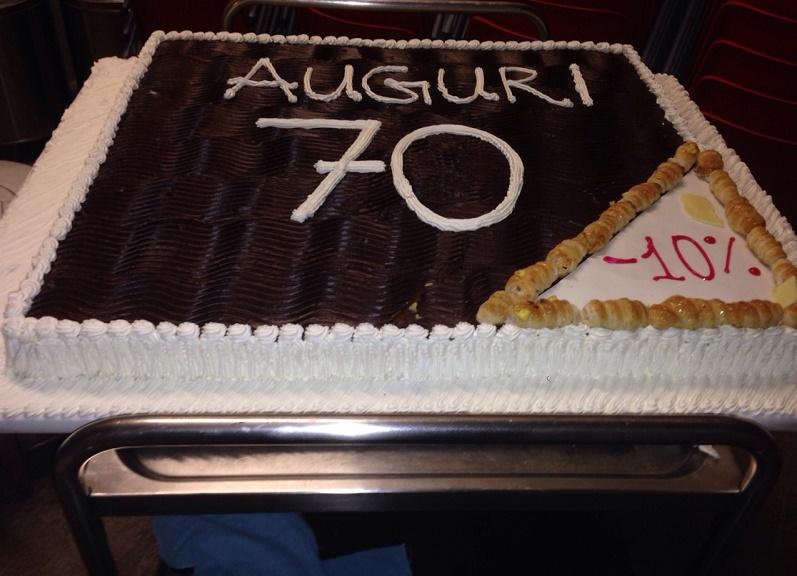 Torta Di Compleanno Uomo 70 Anni