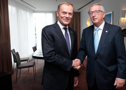 Tusk e Juncker auspicano vertice con Trump