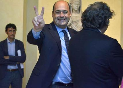 Lazio, l'annuncio di Zingaretti: