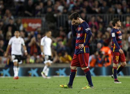 Barca: Messi ko, Inter e Real a rischio
