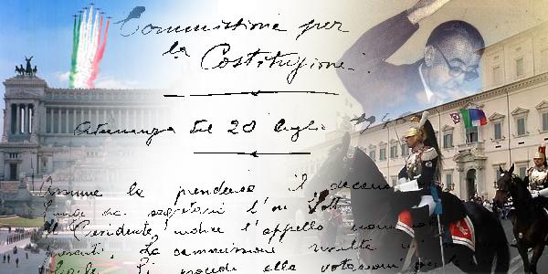 27 dicembre 1947: nasce la Costituzione Italiana