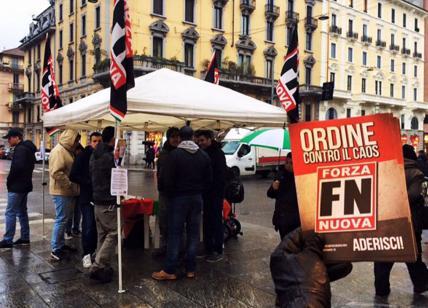 Forza Nuova ad Arco della pace a Milano