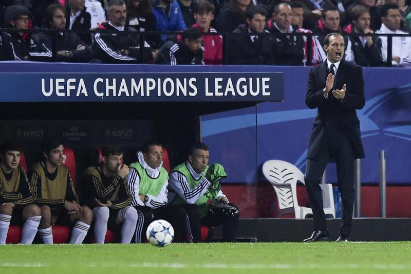 Juventus non va oltre lo 0-0 con il Siviglia nel primo match di Champions League. Allegri deluso... a metà