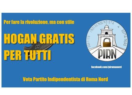 Scarpe Hogan Roma Nord Testo In Vendita