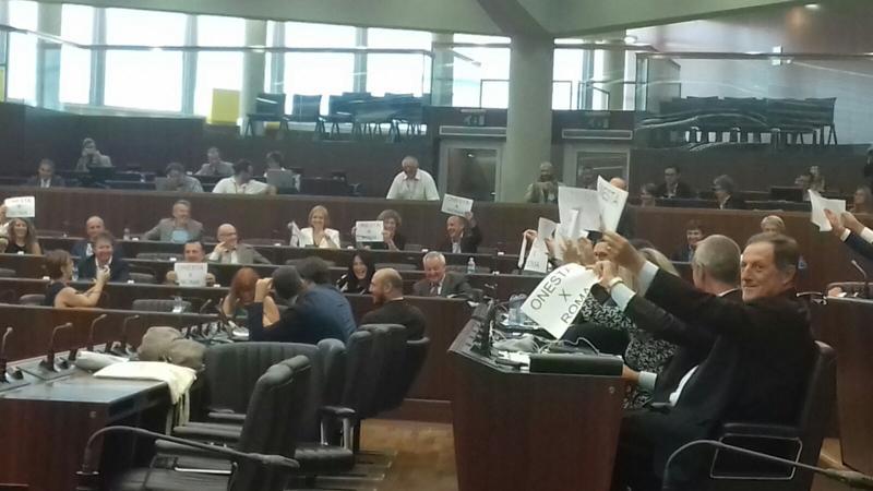 Pomeriggio movimentato in Consiglio Regionale lombardo...