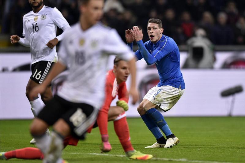 Milan preoccupato per l'infortunio di Alessio Romagnoli durante Italia-Germania