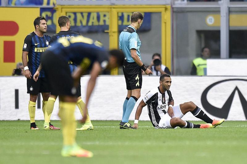 Benatia: distrazione alla coscia per il difensore della Juventus infortunatosi contro l'Inter