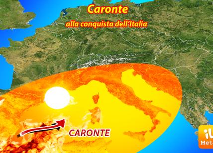 Meteo, Caronte sta arrivando: afa e caldo record, ecco le previsioni