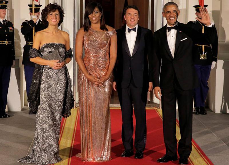 """Show di Benigni con Obama: """"Devi fermare Renzi..."""""""