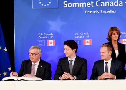 Ue-Canada: a Bruxelles al via summit per firma accordo