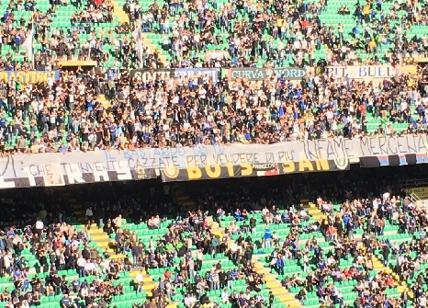 Inter, Curva Nord all'attacco: