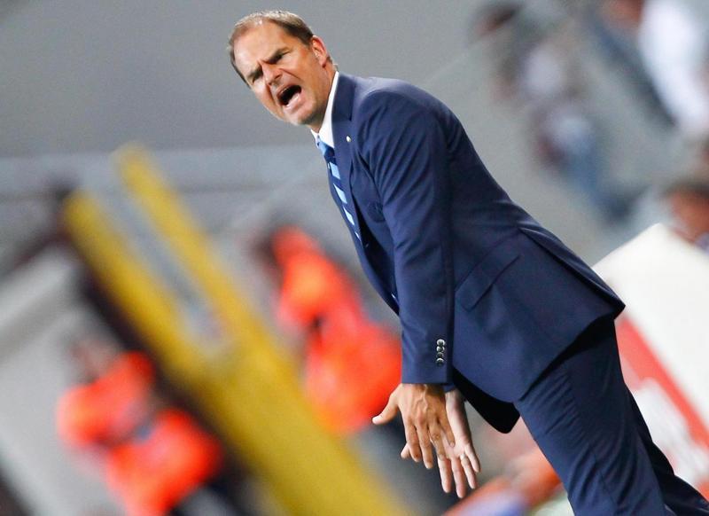 """Sparta Praga-Inter, brutto ko. De Boer ai giocatori. """"Atteggiamento sbagliato"""""""