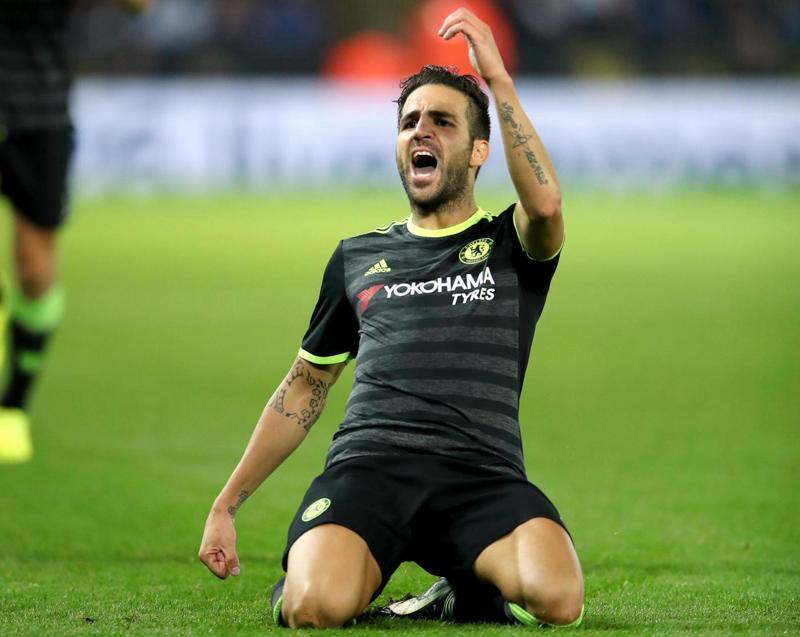 Coppa di Lega: Fabregas salva Antonio Conte, Chelsea avanti e Leicester fuori