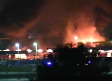 Tanta paura al Ferrari Land in Spagna per un incendio nella notte