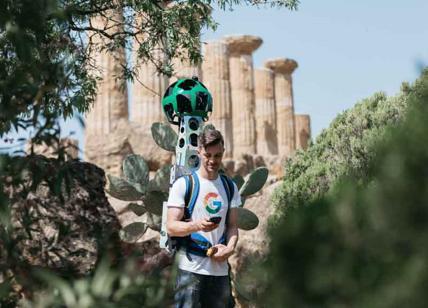 Google Street View sbarca nella Valle Dei Templi di Agrigento