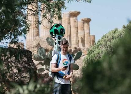 Agrigento, la Valle dei Templi sbarca sul web con Google