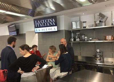 Alla cucina italiana tutto nuovo per imparare i segreti degli chef