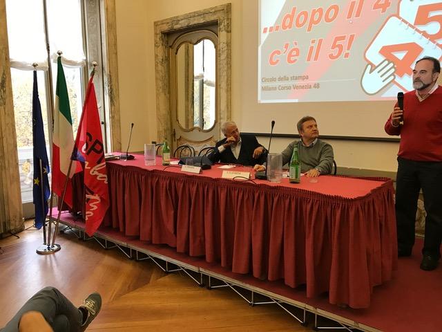 """Pisapia: """"A Milano c'era una giunta di sinistra-centro. Adesso con Beppe Sala c'è una giunta di centro-sinistra"""""""