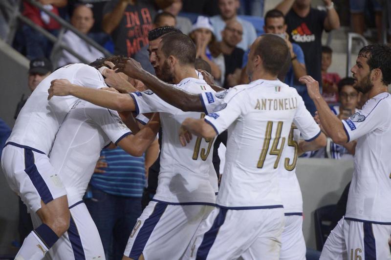 Mondiali 2018. la Spagna travolge il Liechtstenstein. Italia soffre in Israele. La situazione del girone