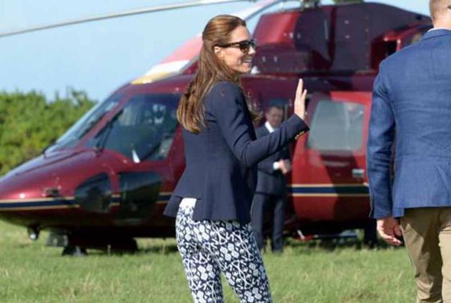 Kate Middleton Cornovaglia ape 2