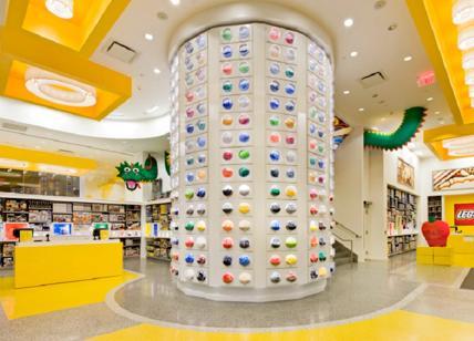 Apre a Milano il più grande negozio Lego