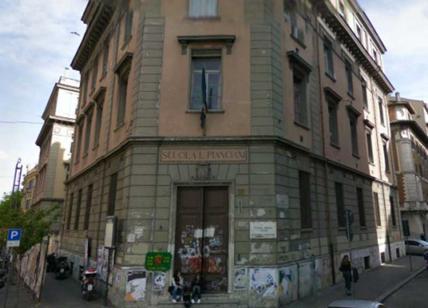 Crepe in un liceo a piazza Risorgimento, studenti trasferiti al Mamiani