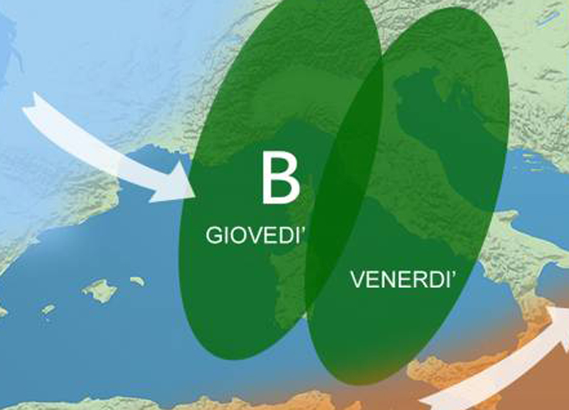 Meteo, allerta in Liguria e Piemonte. Poi su tutto il Nord