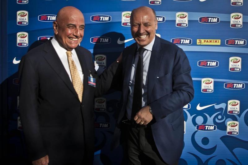 Marotta candida Galliani alla Lega Calcio dopo l'addio al Milan