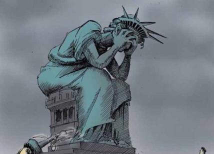 Trump su Statua Libertà: è solo satira