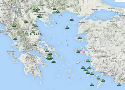 Cartina Puglia Grecia.Grecia Invasa Dai Campi Profughi Mappa Affaritaliani It