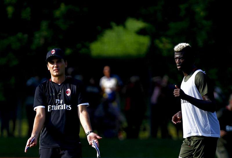 Mati Fernandez ko: guaio al Milan. Honda, Romagnoli e i nazionali tornano da Montella