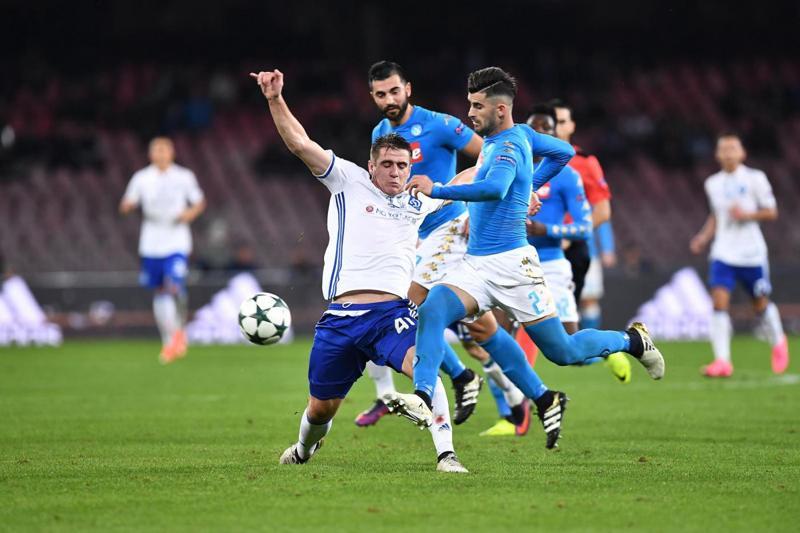 """Champions League: Napoli-Dinamo Kiev 0-0. Sarri: """"Condizionati daL 3-3 di Besiktas-Benfica"""""""